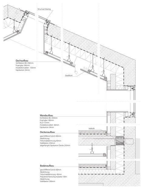 Architekturmuseum Museum Architecture Layout Architecture Architectural Section