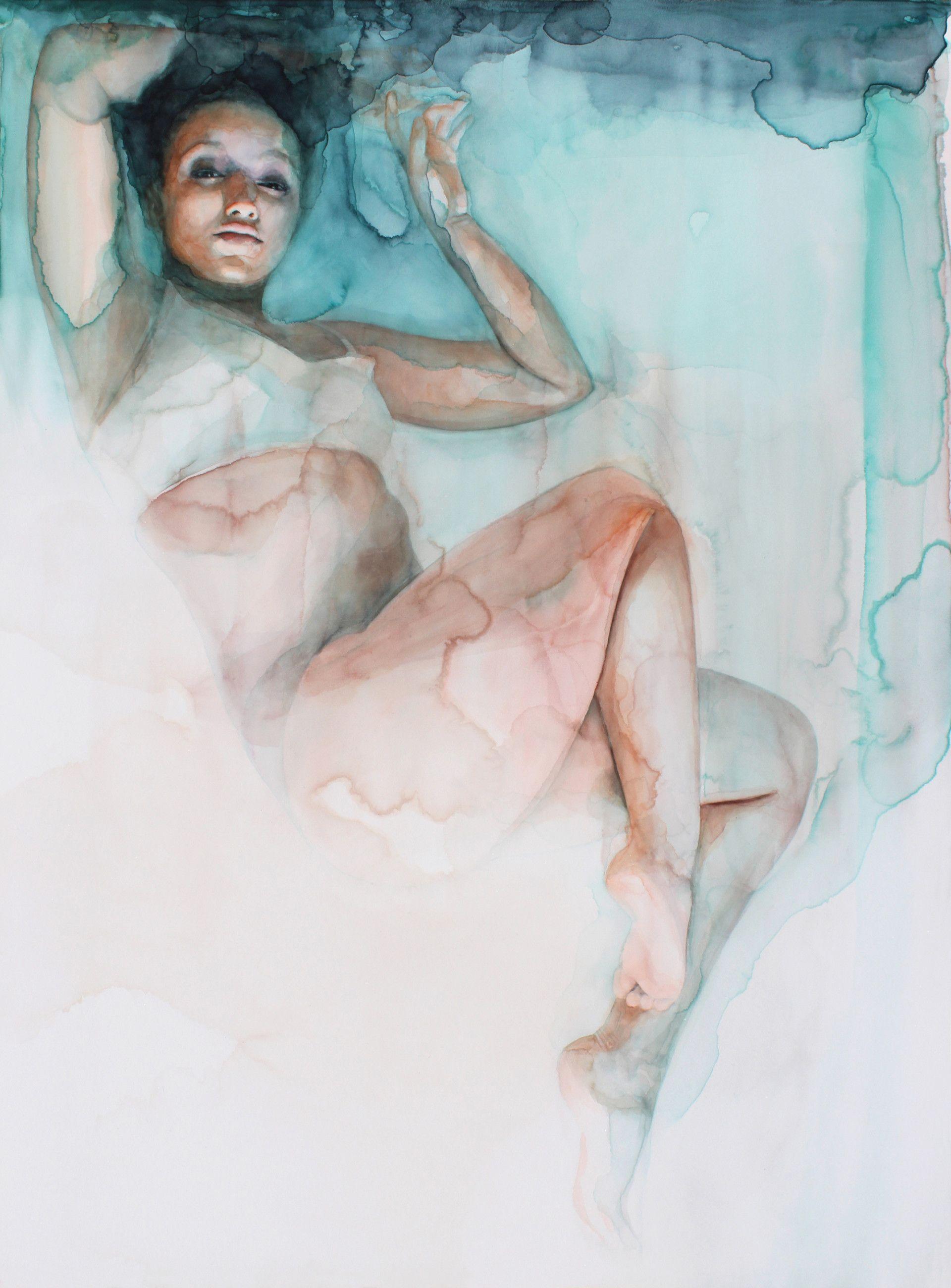 Ali Cavanaugh Modern Fresco Paintings