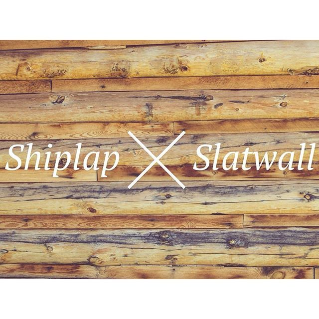Shiplap Vs Slatwall And How Slatwall Is Better Slat Wall Home