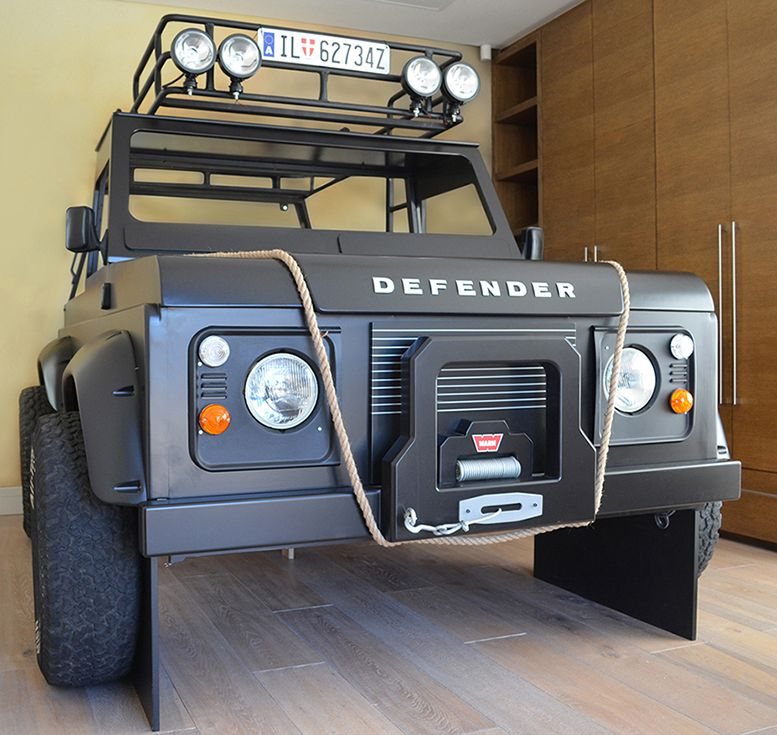 Land Rover 007 Spectre Defender Bunk Bed Kids Themed Room Safari
