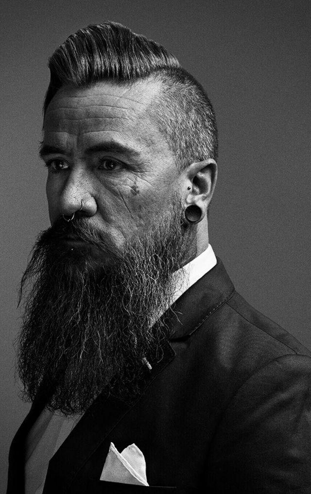 Corte de pelo con barba 2017