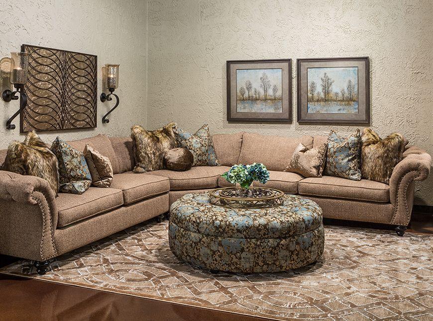 Hemispheres A World Of Fine Furniture Rayna Paradesh Sectional