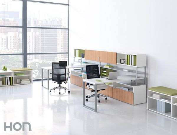 Voi Desking Now Comes In Veneer Learn More At Our Office Furniture Solutions Including Chairs Hon Office Furniture Office Furniture Solutions Office Furniture
