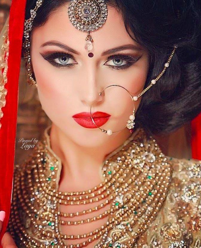New Bridal Jhumka And Nose Ring 2015