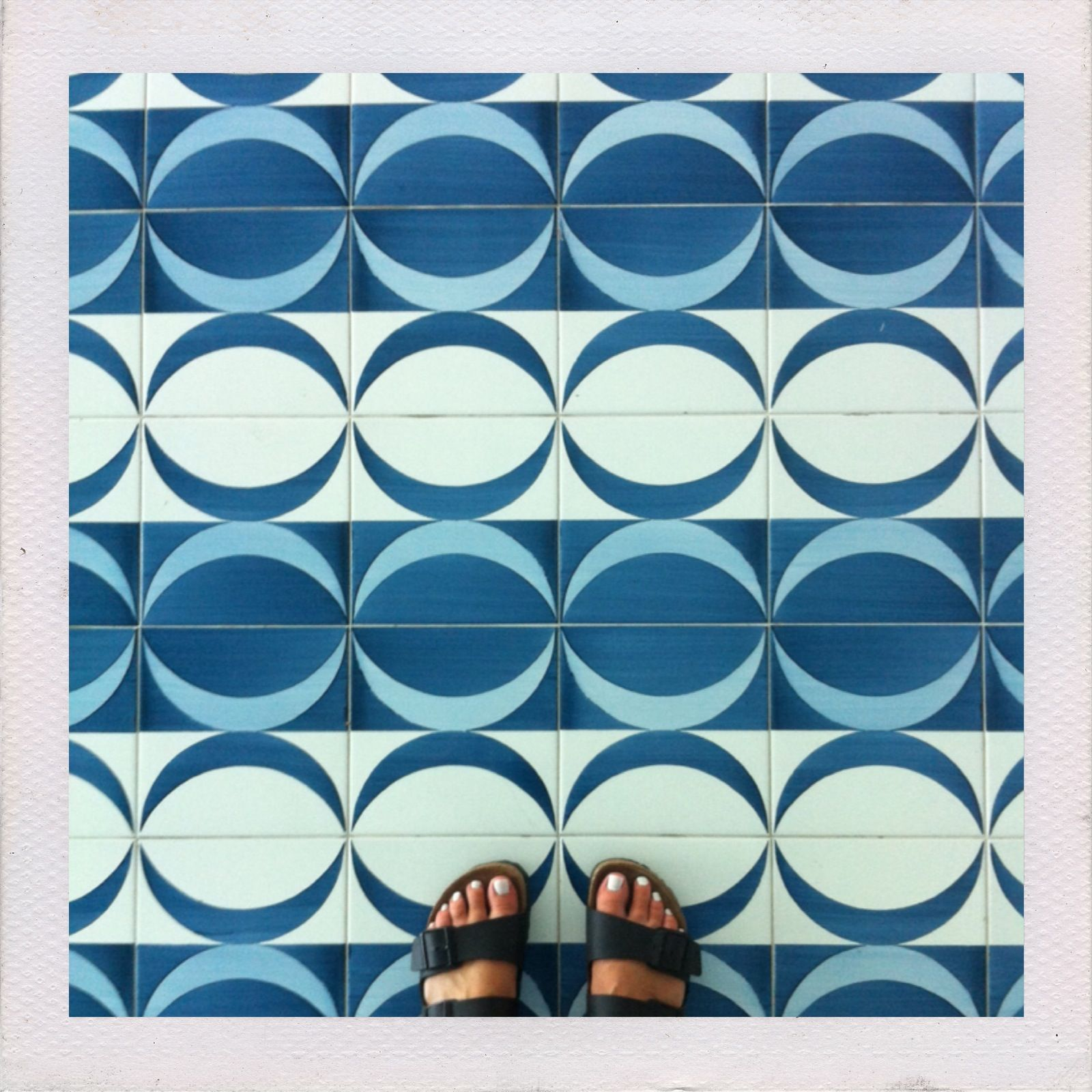 Birkenstocks and tiles by Gio Ponti at Parco dei Principi, Sorrento ...