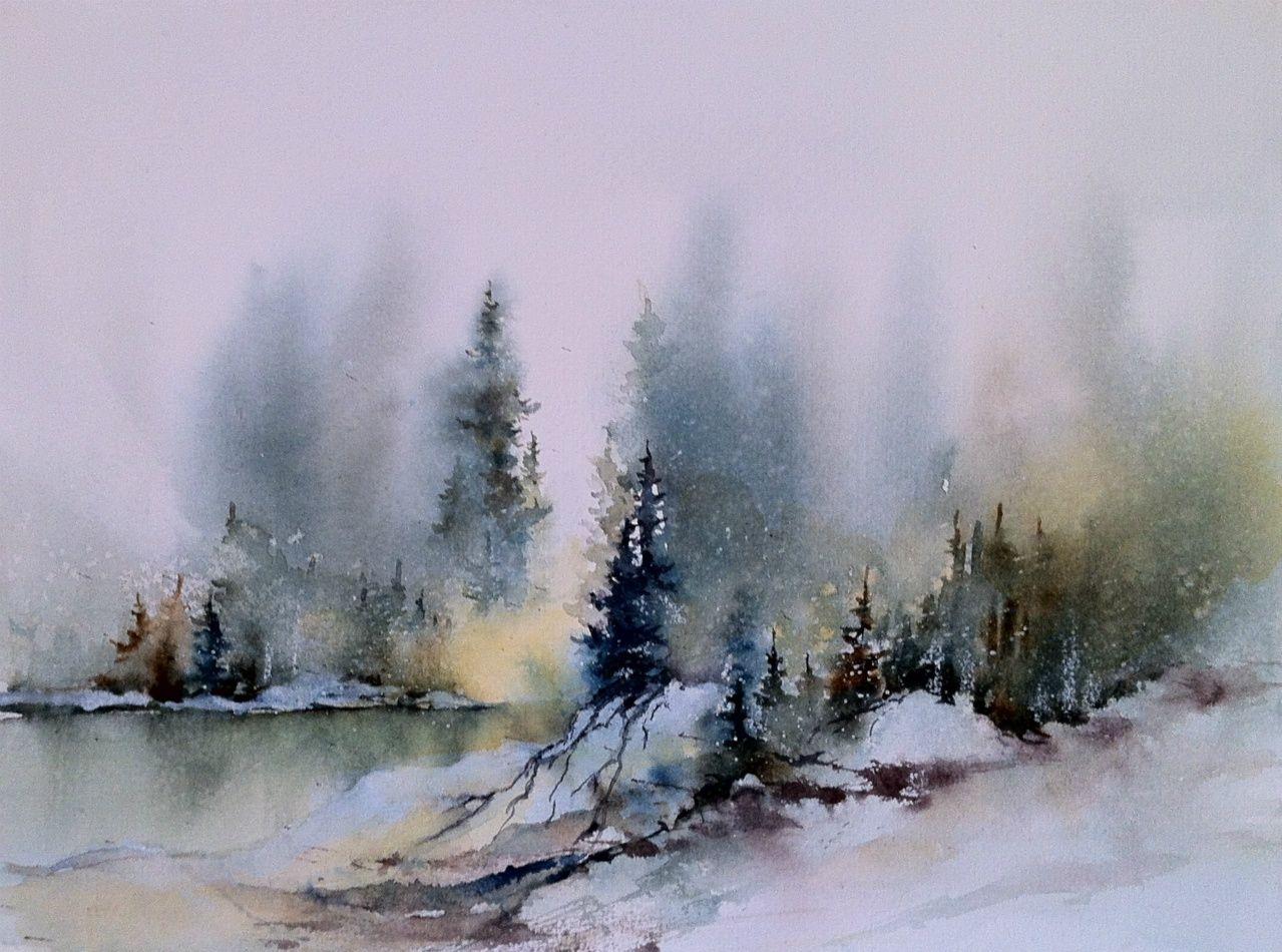 Akvareller 2012 Akvareller