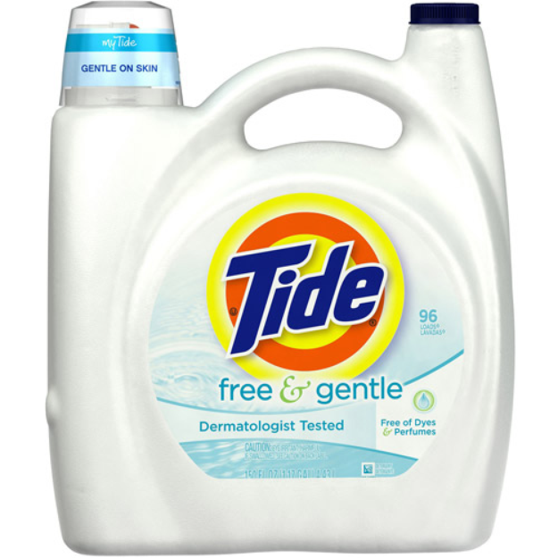 I M Learning All About Tide Free And Gentle Laundry Detergent At