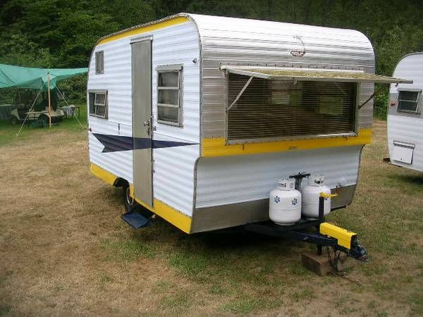 1965 12 ft 0asis Recreational vehicles, Retro vintage