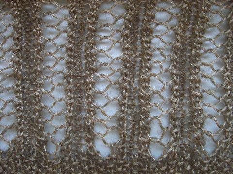 Im Sommer bringen Netzmuster gebräunte Haut raffiniert zur Geltung ...