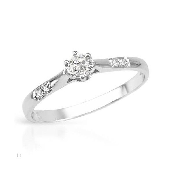 Diamond Rings For Sale Cheap: 1/4 Carat Cheap Promise Ring For Her On Sale