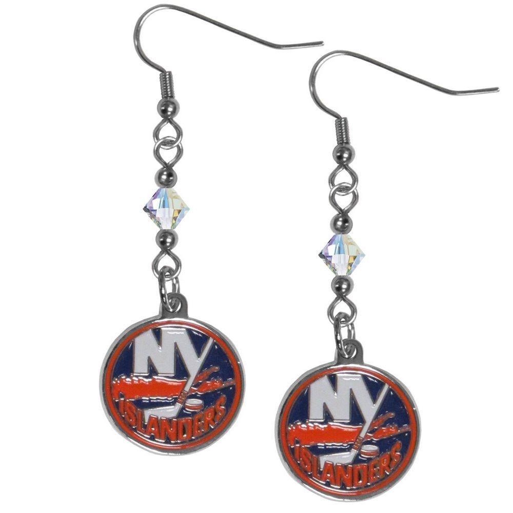 New York Islanders® Crystal Dangle Earrings HCE70