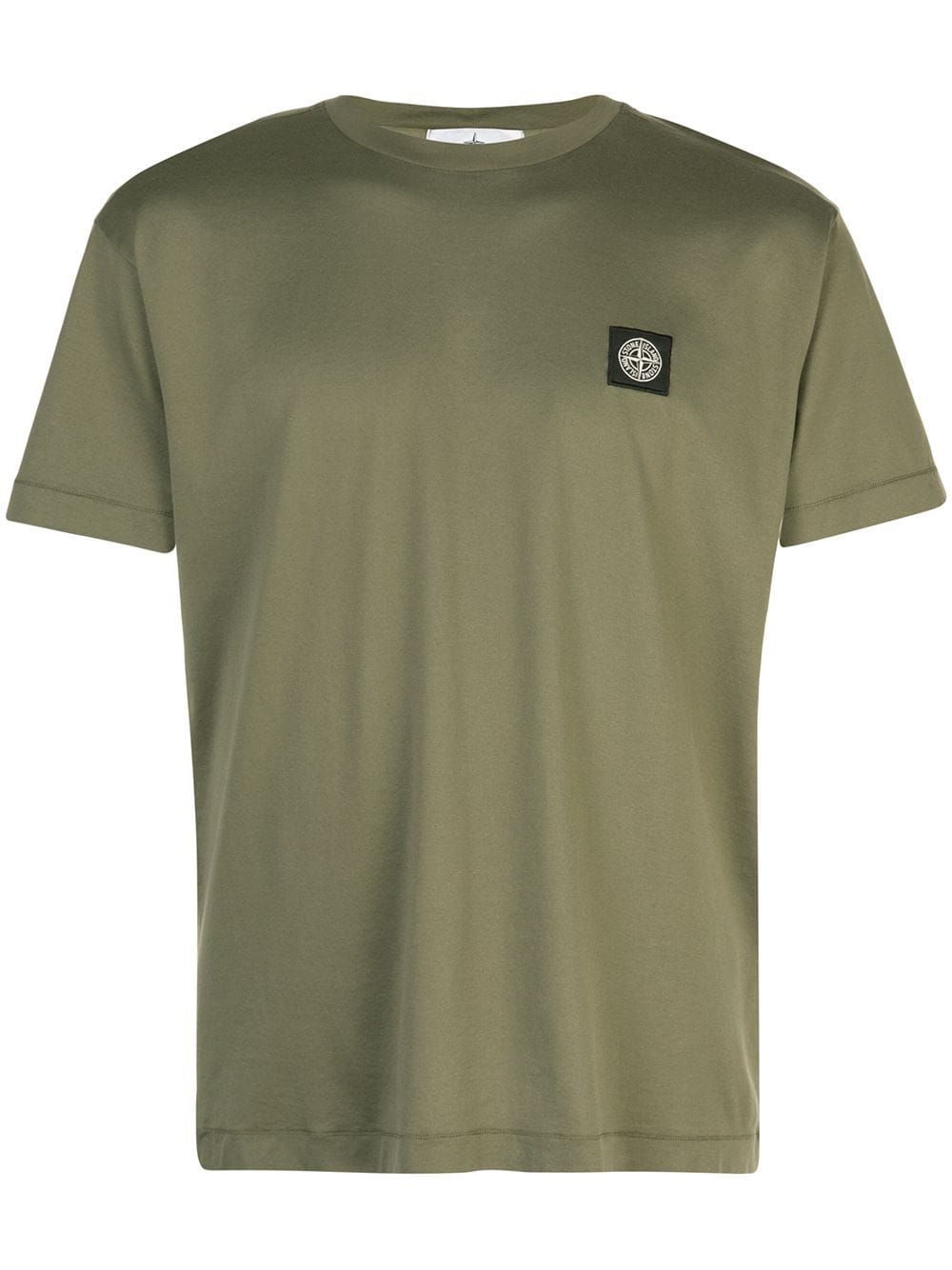 Stone Island Embroidered Logo T Shirt Green In 2019 Stone Island T Shirt Stone Island Mens Tops