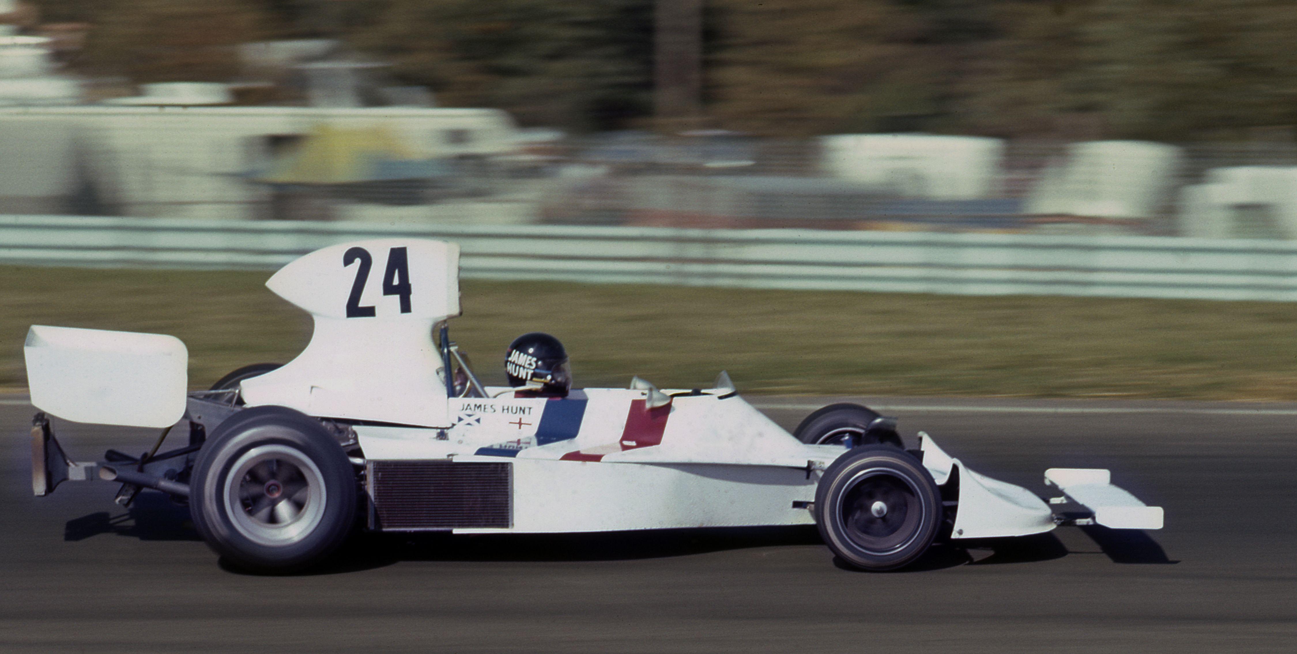 James Hunt, Hesketh, USA, 1974