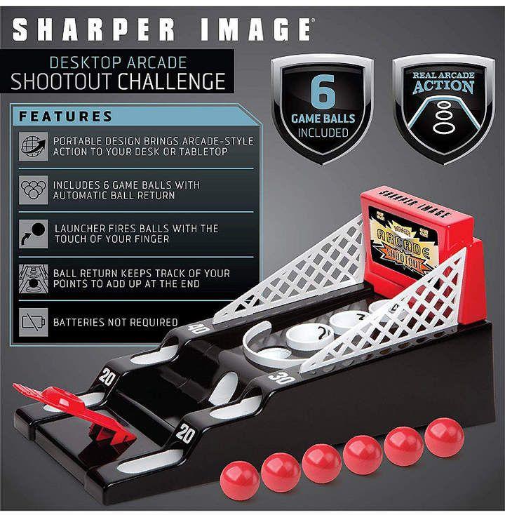 Sharper Image Game Desktop Arcade Shootout Arcade