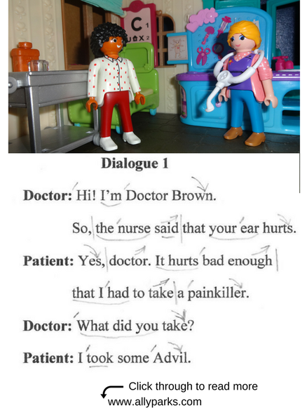 Everyday Dialogues, at the doctor, in the hospital, English speaking