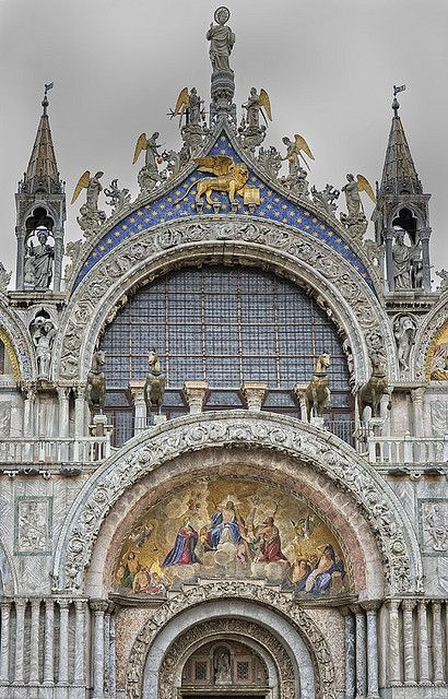 Cupula Central Basilica San Marco Piazza San Marco Venice Italy Italy