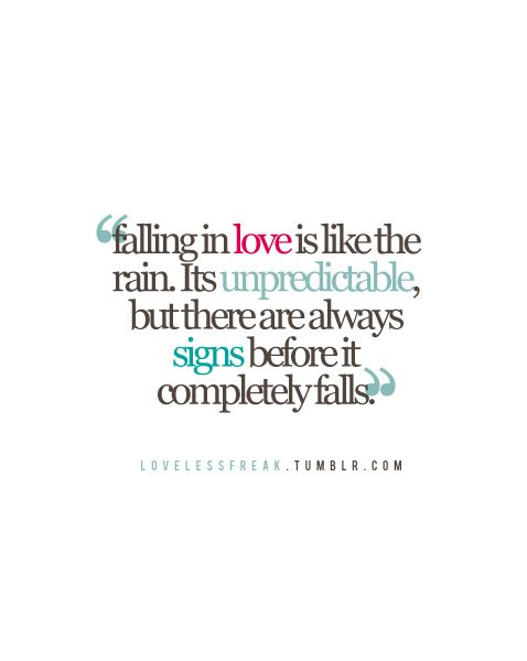 Nice Falling In Love Quotes 1
