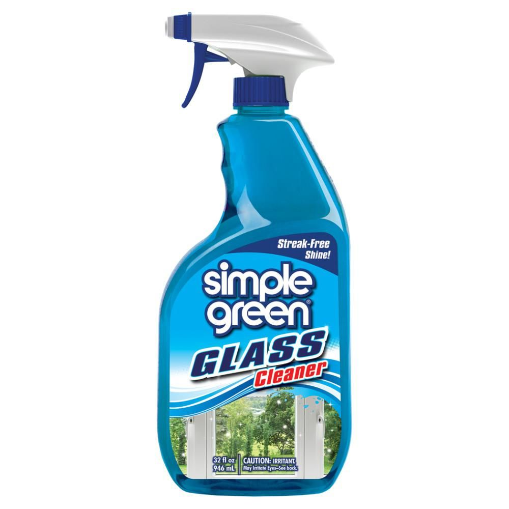 Simple Green 32 Oz Ready To Use Glass Cleaner Glass Simple