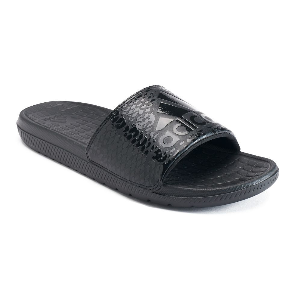 separation shoes 0f9fa a0ed3 Adidas Voloomix GR Men s Slide Sandals, Size  13, Black