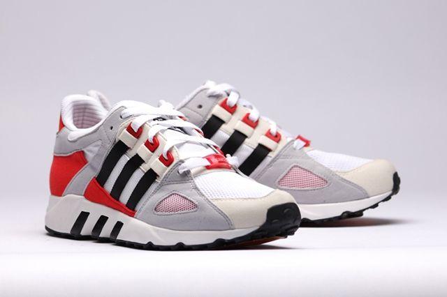 detailed look 0e603 55463 ADIDAS EQT RUNNING GUIDANCE 93 (OG RED)  Sneaker Freaker