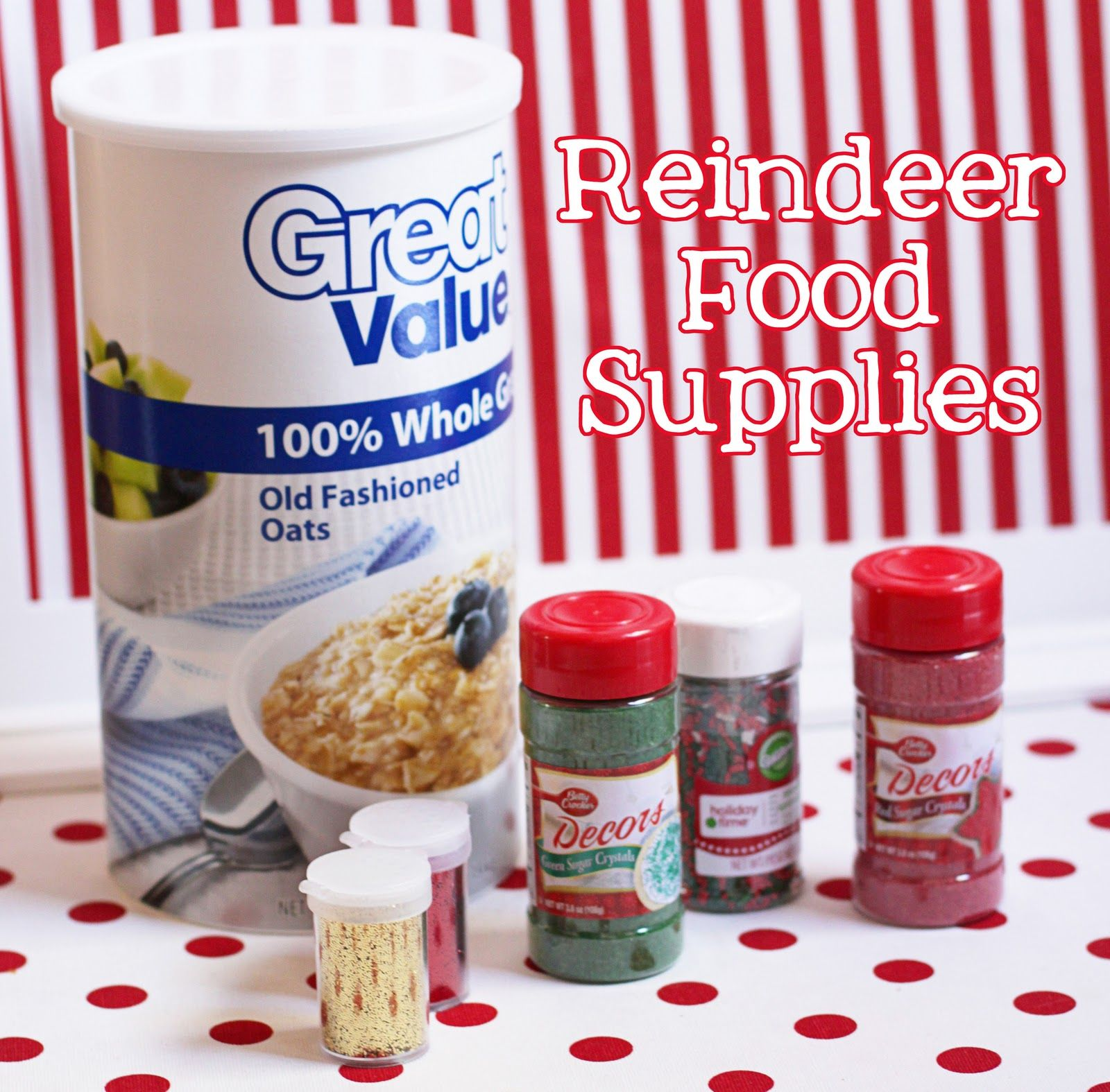 Old Fashioned Christmas Party Ideas Part - 49: Reindeer Food And Christmas Class Party Ideas Amandau0027s Parties TO GO