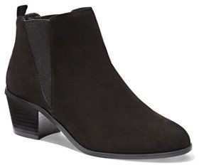 Faux-Suede Ankle Boot SALE WON'T LAST LONG! | Clothes | Pinterest ...