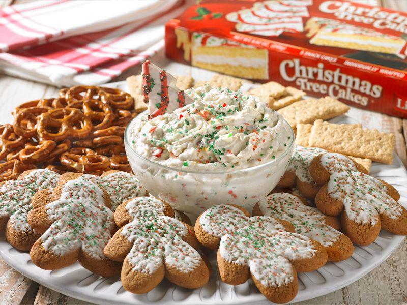 Christmas Tree Cakes Dip Cake Dip Tree Cakes Christmas Tree Cake