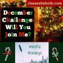 #decemberchallenge