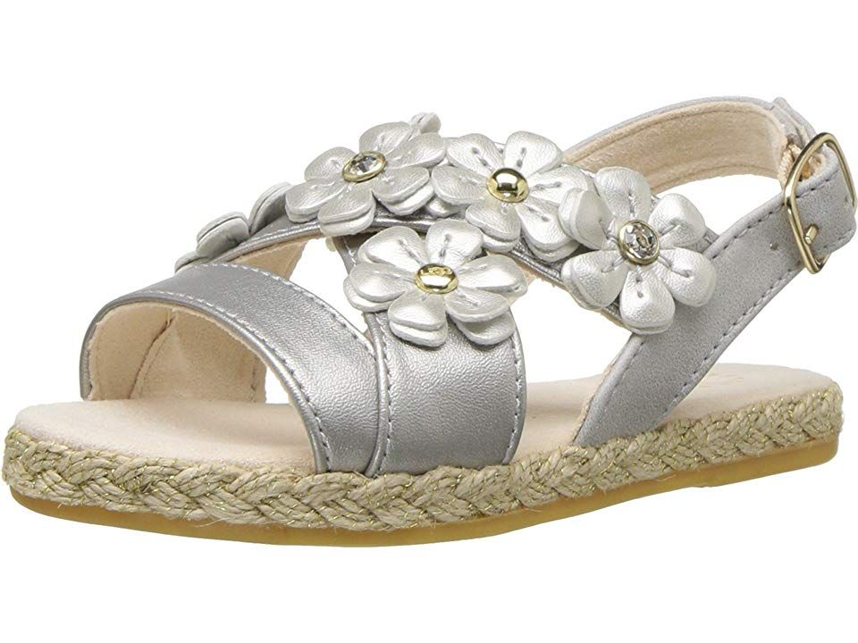 526f6d122df UGG Kids Allairey Shimmer (Toddler/Little Kid) Girl's Shoes Silver ...