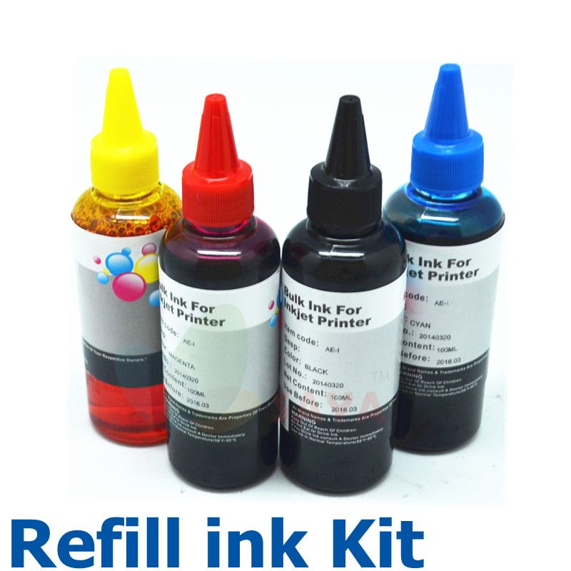 High Quality 400ML Specialized Dye based Ink For Canon printer ink ...