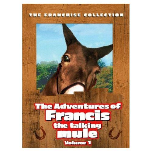 Amazon.com: The Adventures of Francis the Talking Mule, Vol. 1 (Francis the Talking Mule / Francis Goes to the Races / Francis Goes to West Point / Francis Covers the Big Town) {1950}