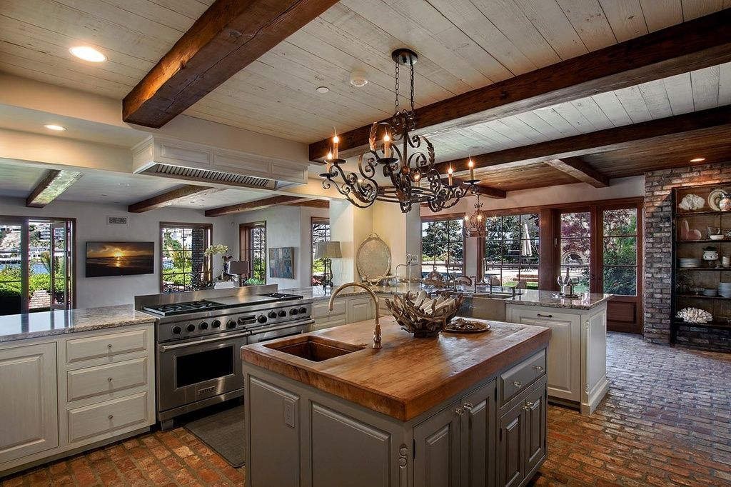 The Counters, The Floor, The Ceiling, The Openness. Beach House Kitchen    Rustic   Kitchen   Images By Beth Whitlinger Interior Design