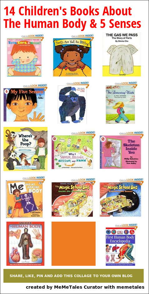 14 Fun Childrens Books About The Human Body A Wide Range Of Books