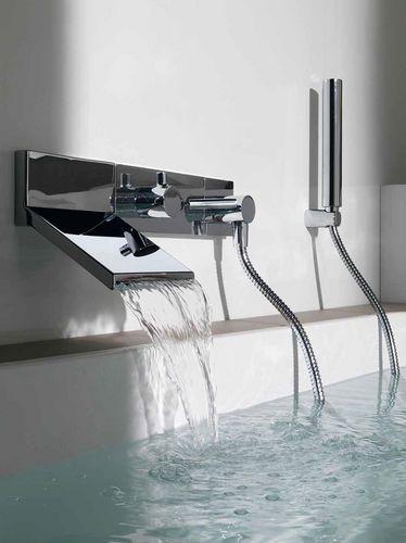 Bathtub mixer tap / shower / builtin / brass ZP8046