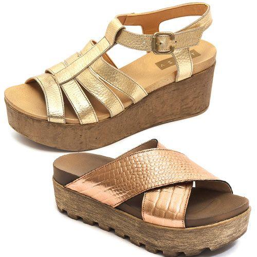 1ca5cb80ebe Traza Sandalias Verano 2017 - Moda Argentina en Zapatos de Cuero - El Bazar