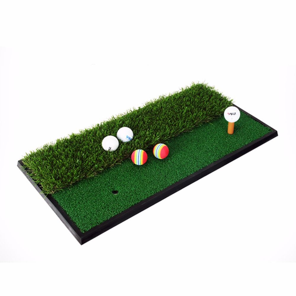 crestgolf 33 63cm backyard exercise golf mat training hitting mat