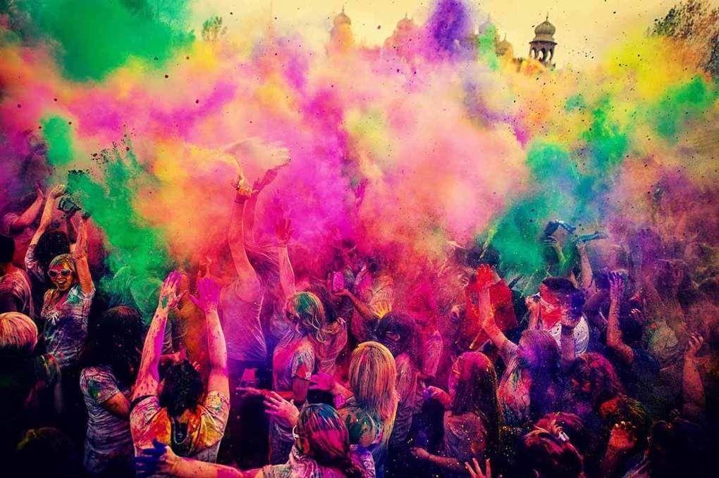 Holi Festival Of Colours #Roma a Capannelle
