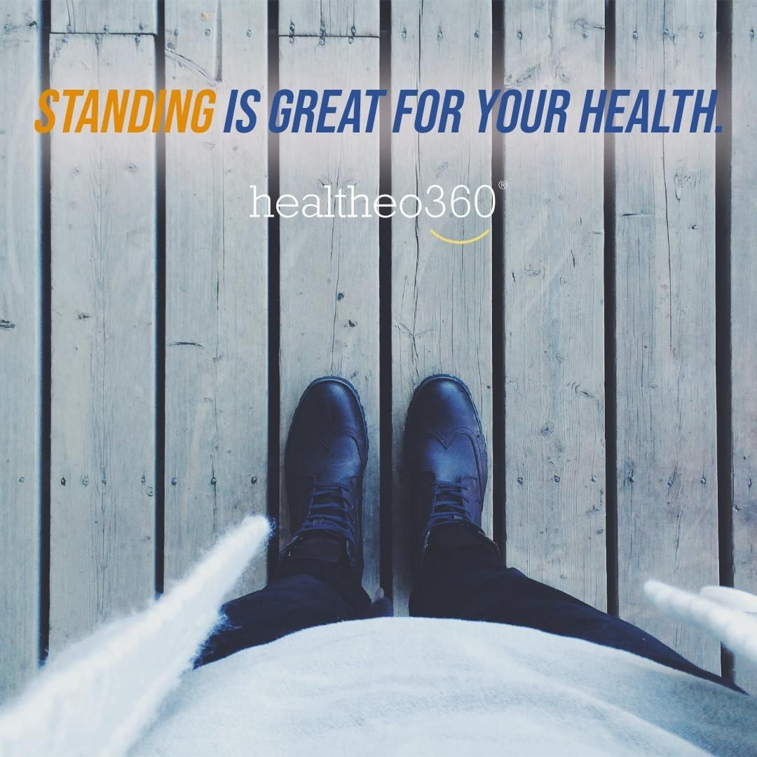 We sit too much - it's scientifically proven. #Standing reduces bad #cholesterol, boosts your #energ...