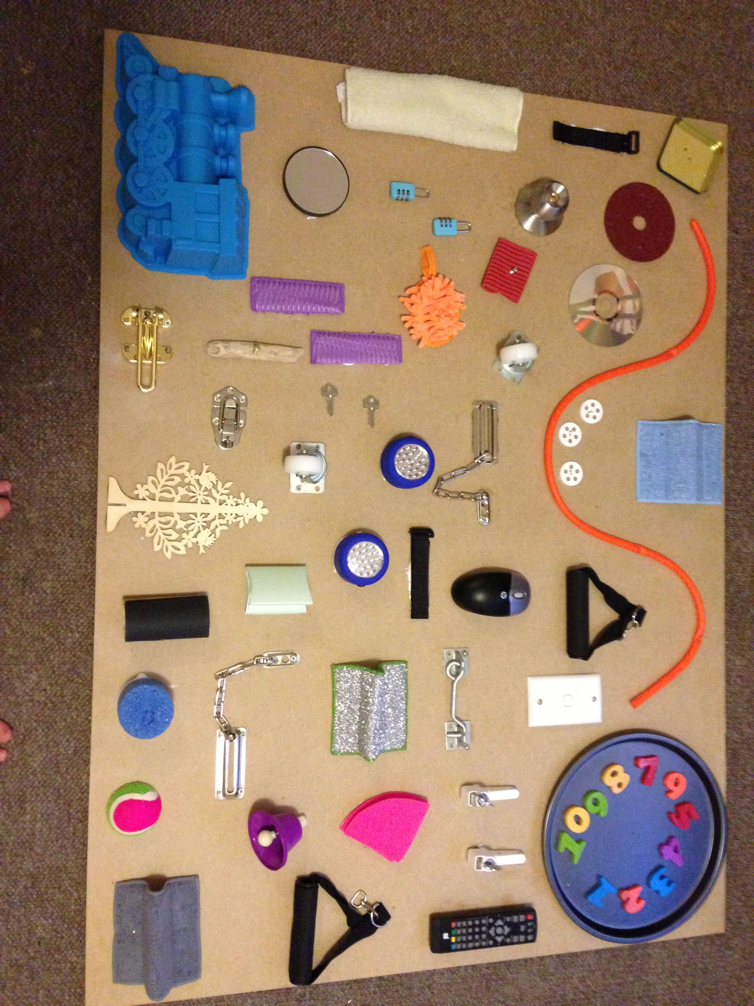 Sensory Wall Diy Sensory Wall Baby Sensory Board Autism