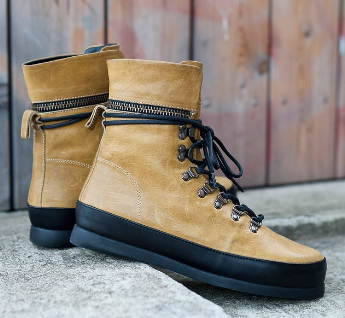 Allique Hightop Sneaker for Fall/Winter 2014