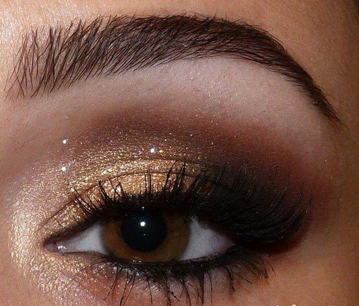 Idées maquillage des yeux – 60 idées avec les couleurs dété