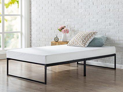 ce6f4162b29 Zinus 12 Inch Platforma Bed Frame   Mattress Foundation  No Box Spring  needed   Metal Slat Support