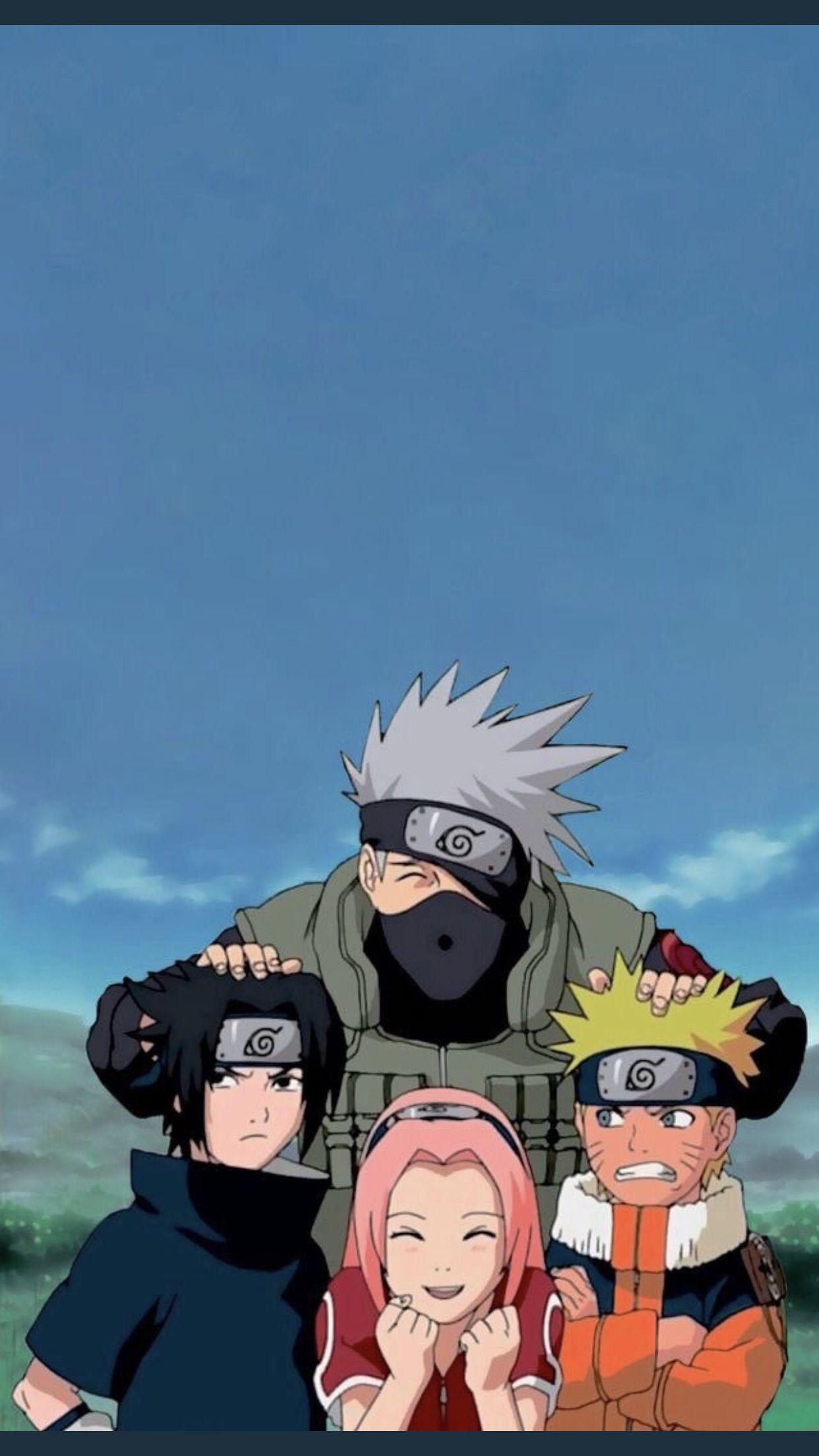 épinglé Par Gấu Sur Naruto Fond Décran Téléphone Manga