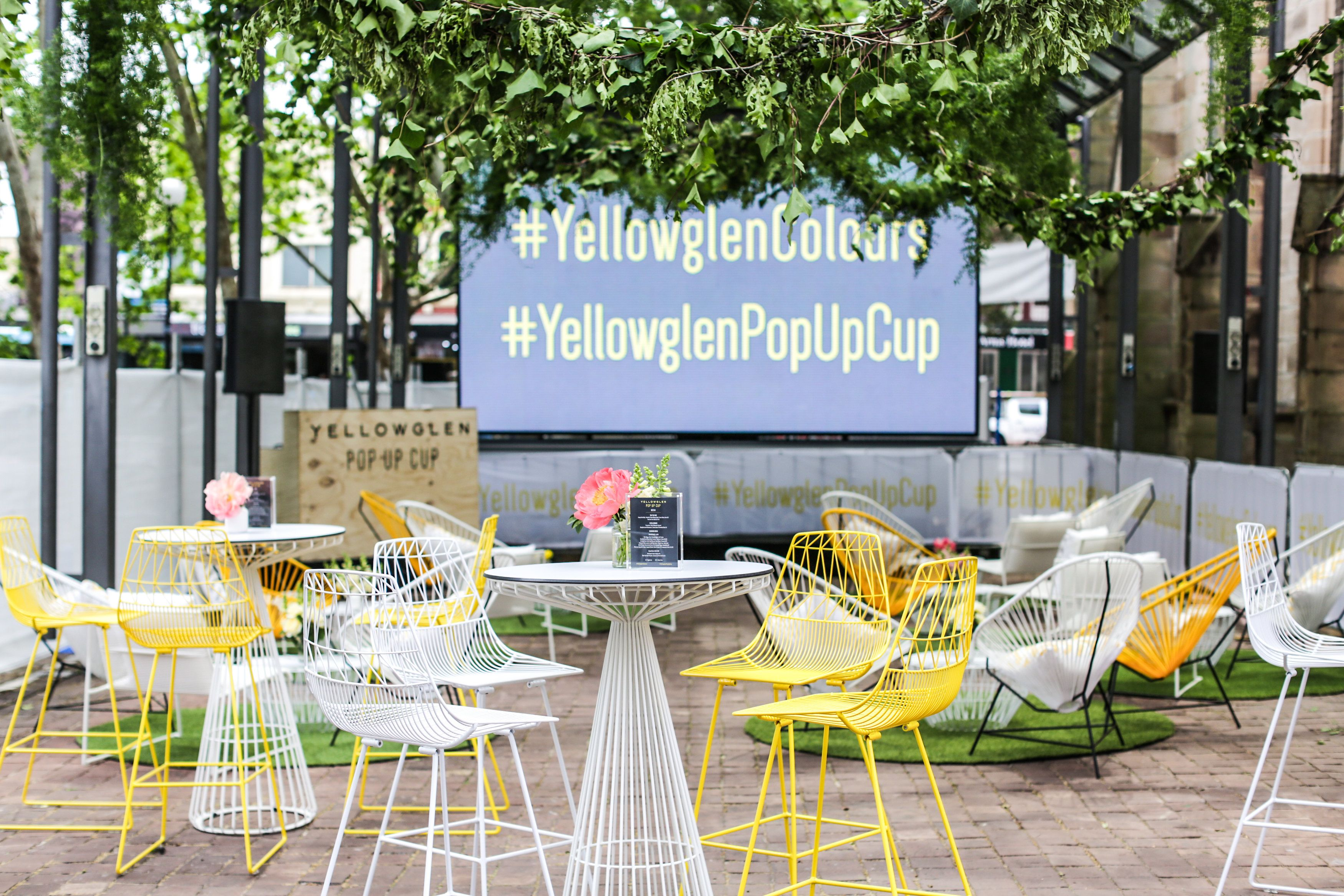 Yellowglen Pop Up Cup In Sydney Georgeous Occasions