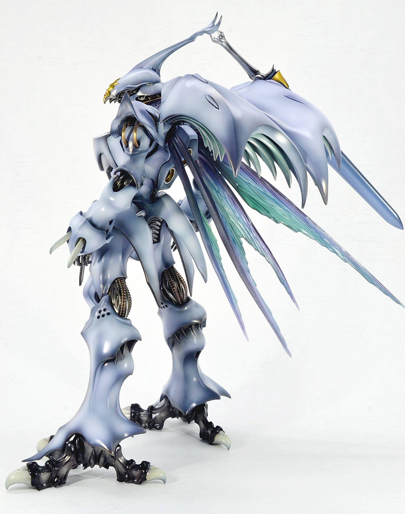 Robot Spirits Aura Battler Dunbine Wryneck Action Figure Bandai FROM JAPAN