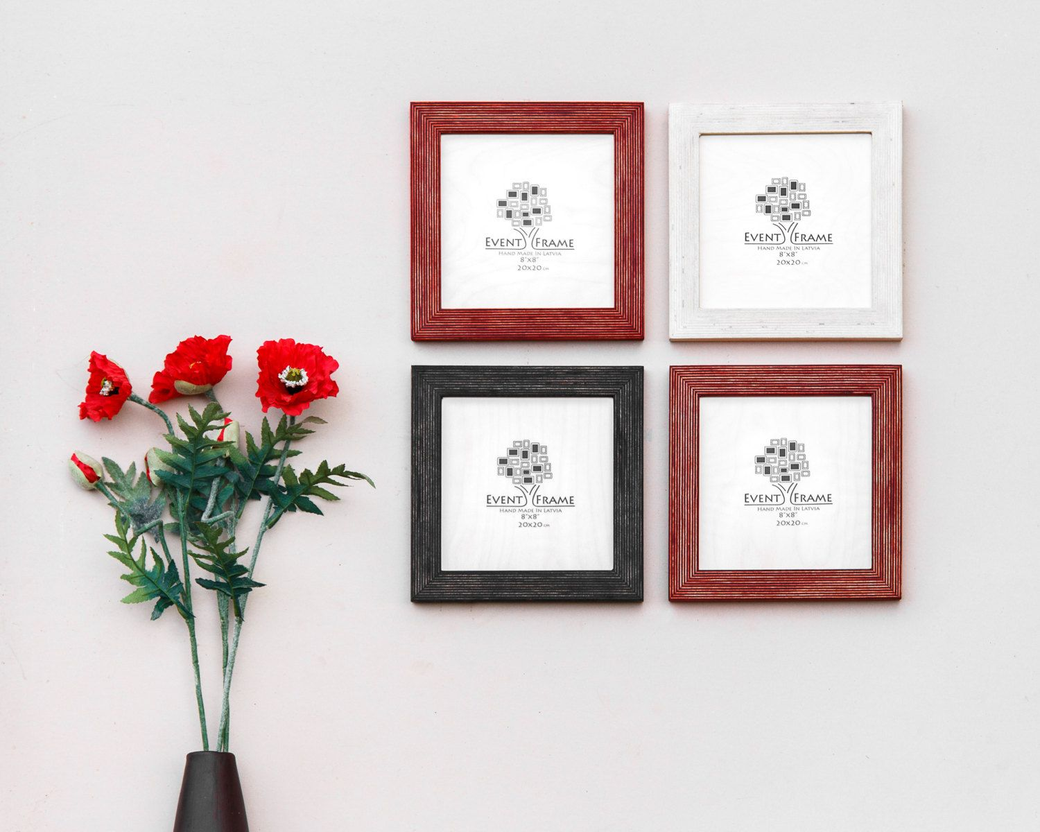Picture frame set of 4 photo frame set gallery wall set rustic picture frame set of 4 photo frame set gallery wall set rustic frame jeuxipadfo Gallery