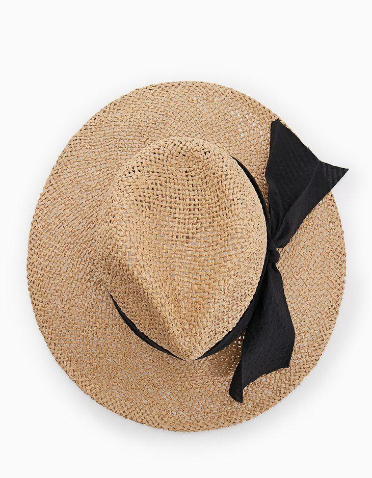Sombrero Panamá de STRADIVARIUS (SS17) por 9,99€. Ref. 00667003-V2017