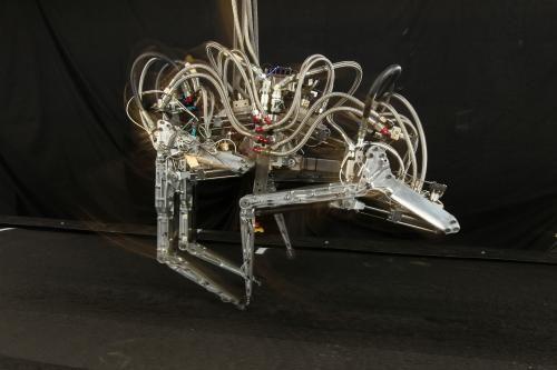 (Present) Cheetah robot (DARPA, 2012)