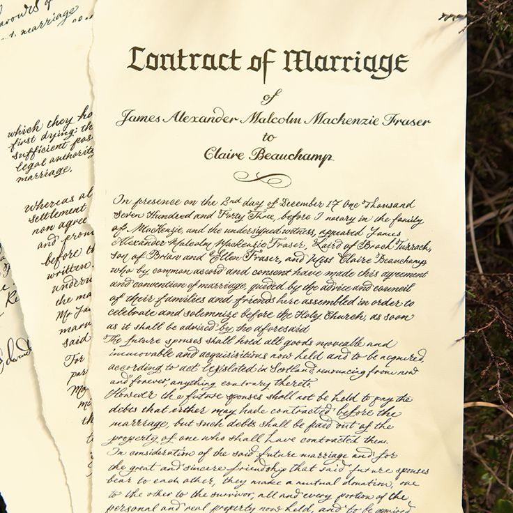 An Unexpected Arrangement The Wedding Contract Between Jamie