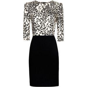 Biprint Dress